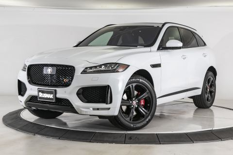 New 2020 Jaguar F-PACE S AWD SUV