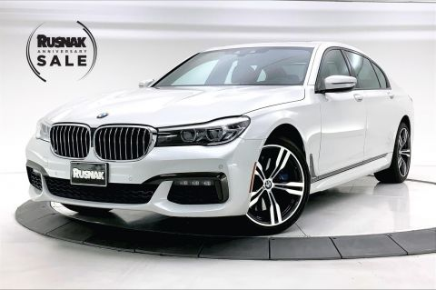 Pre-Owned 2017 BMW 7 Series 740i RWD 4D Sedan